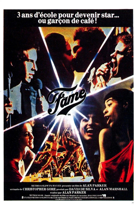 affiche du film Fame (1980)