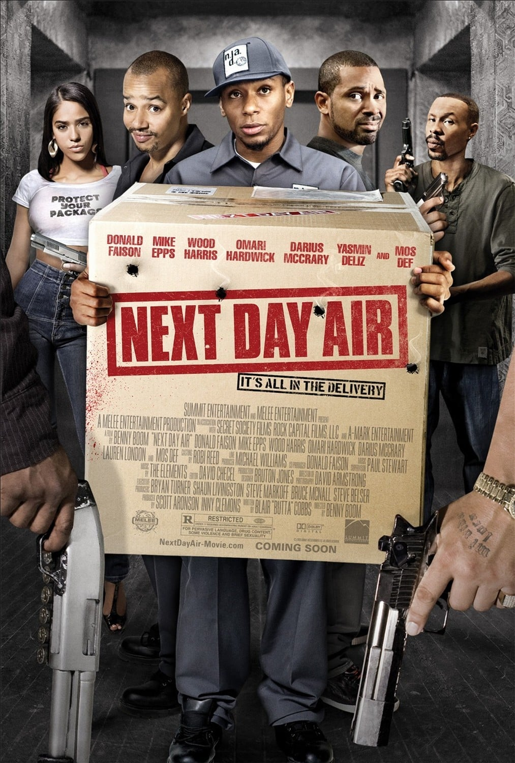 affiche du film Next Day Air