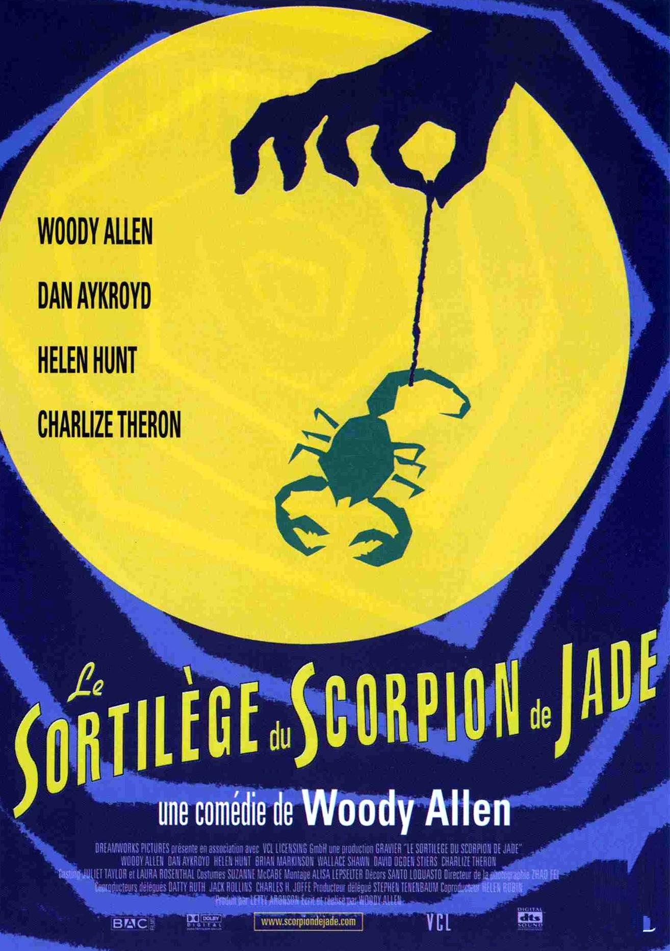 affiche du film Le sortilège du scorpion de Jade