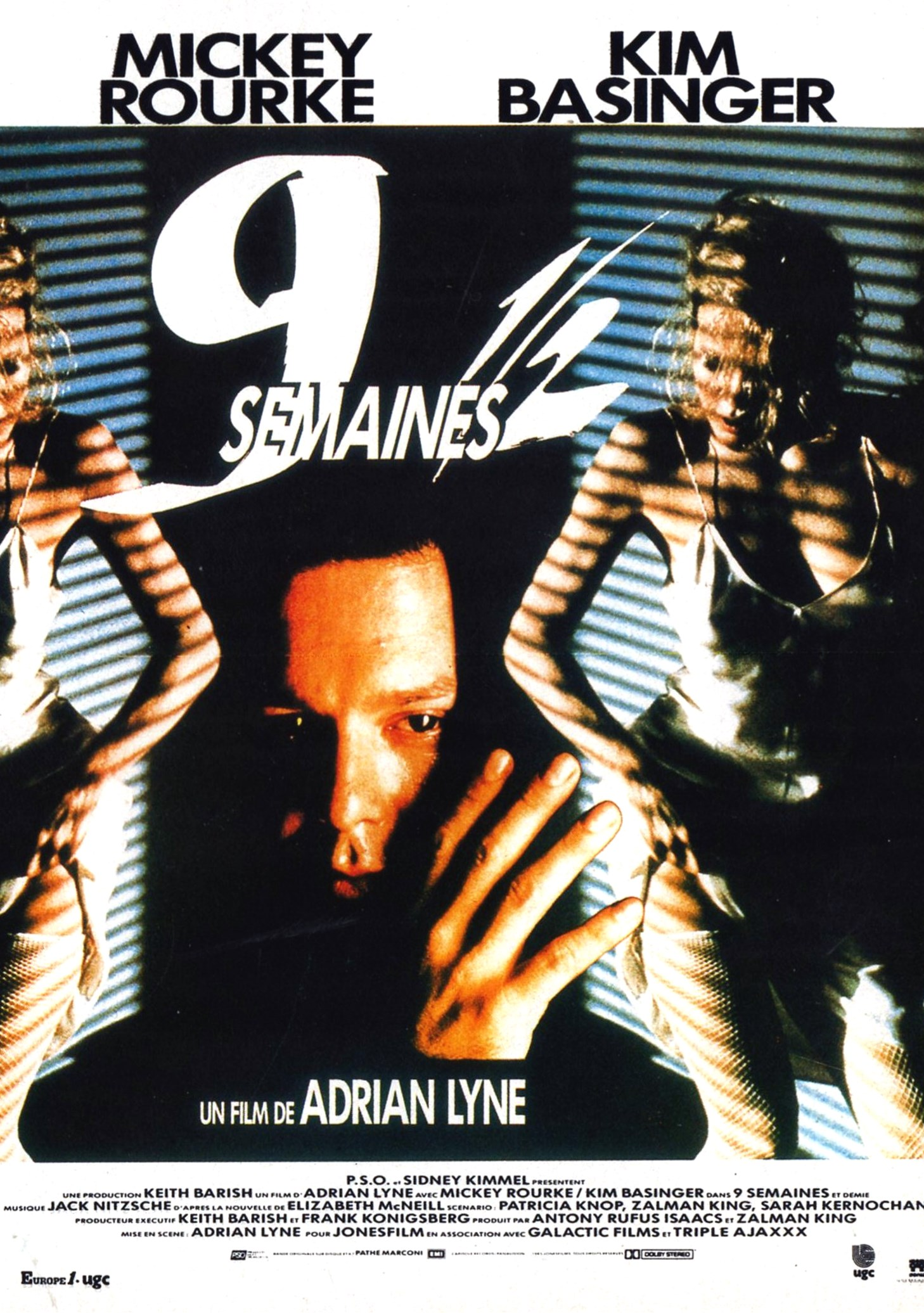 affiche du film 9 Semaines ½