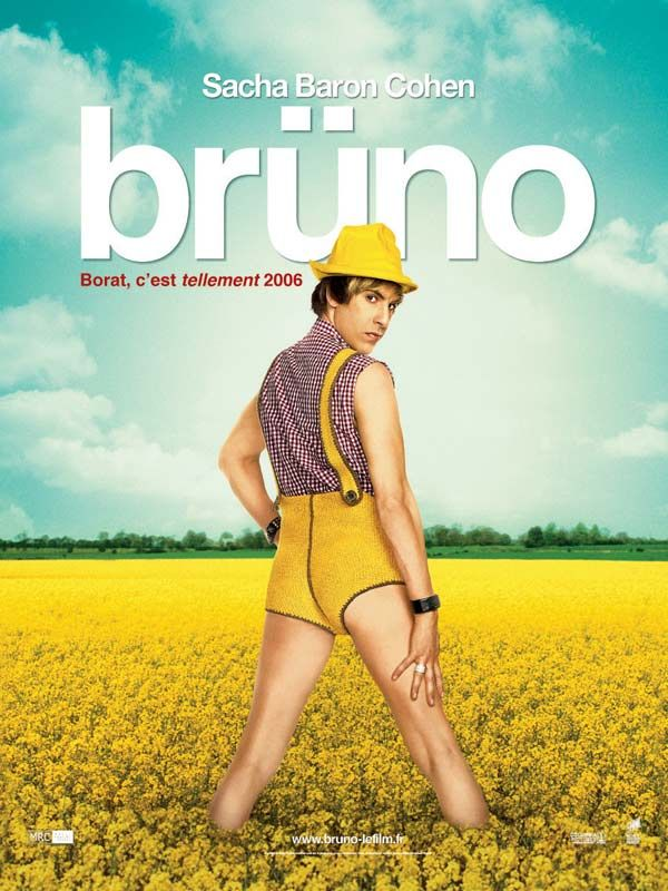 affiche du film Brüno (2009)