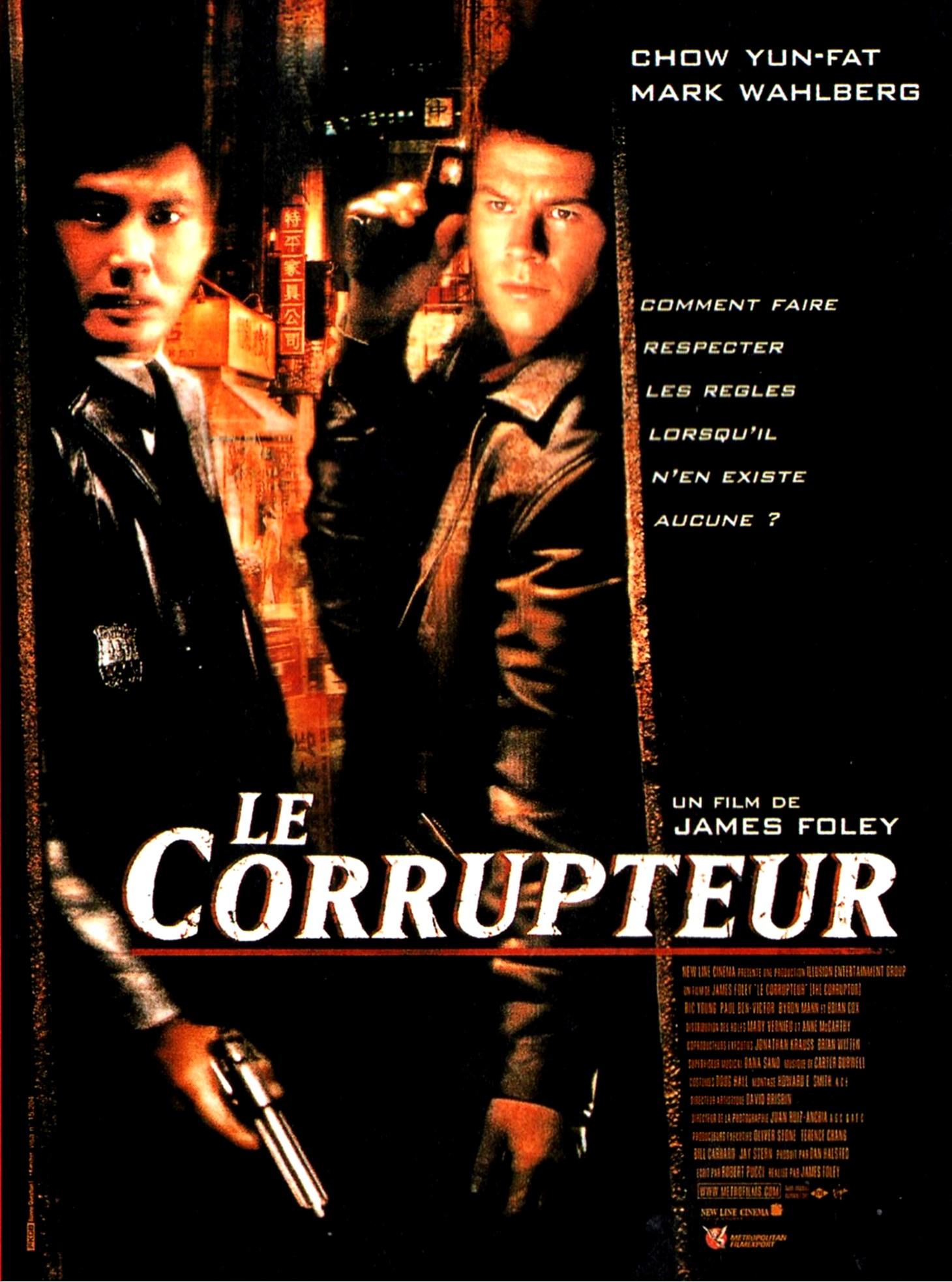 affiche du film Le corrupteur