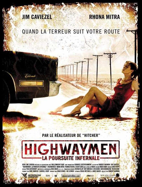 affiche du film Highwaymen: La poursuite infernale