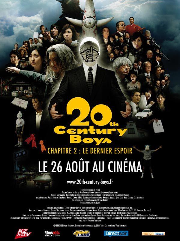 affiche du film 20th century boys: Chapitre 2 - Le dernier espoir