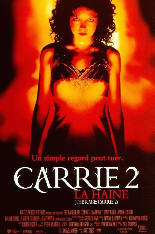 affiche du film Carrie 2: La haine