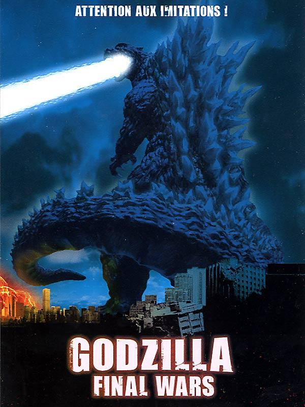 affiche du film Godzilla: Final Wars