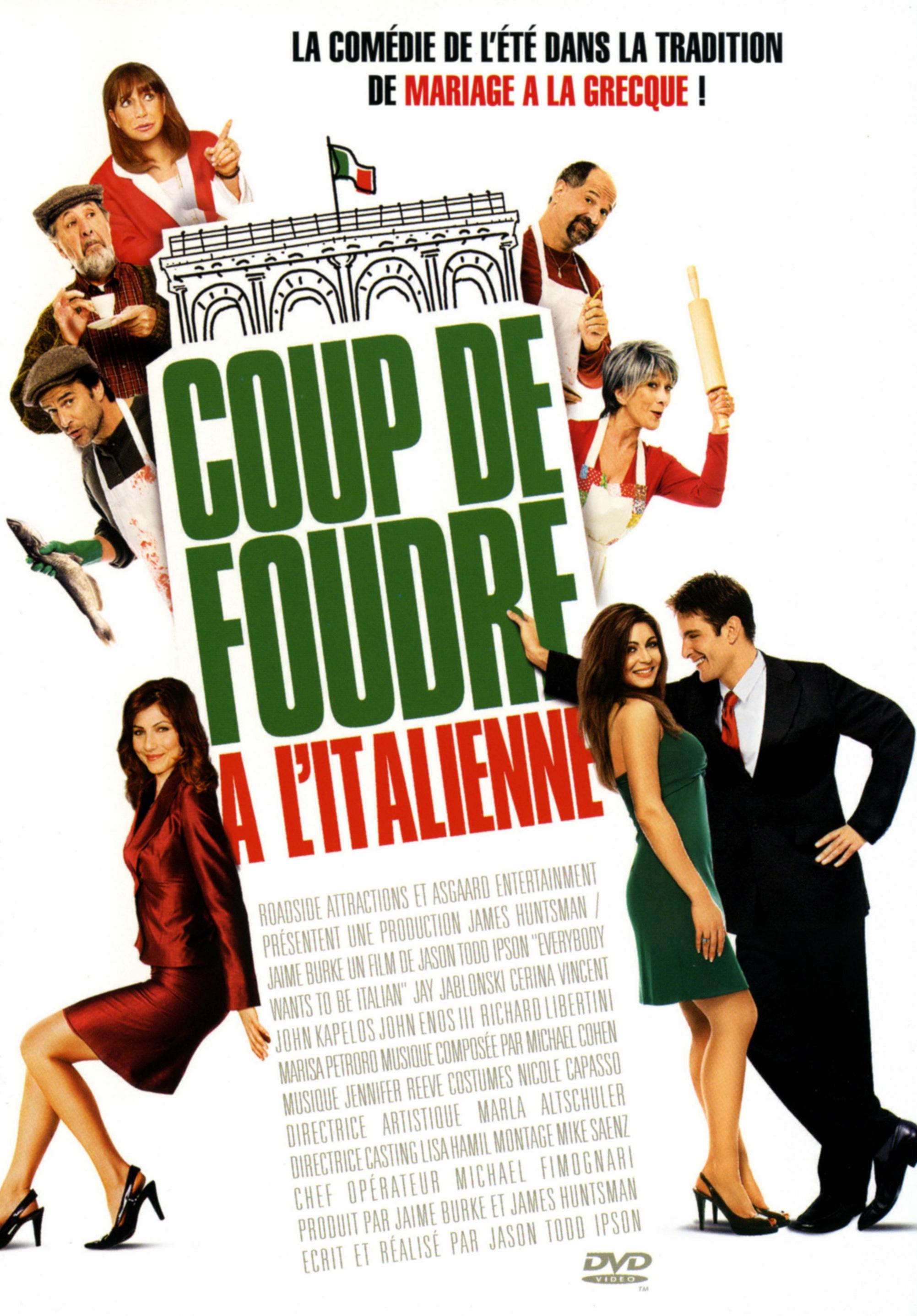affiche du film Coup de foudre à l'italienne
