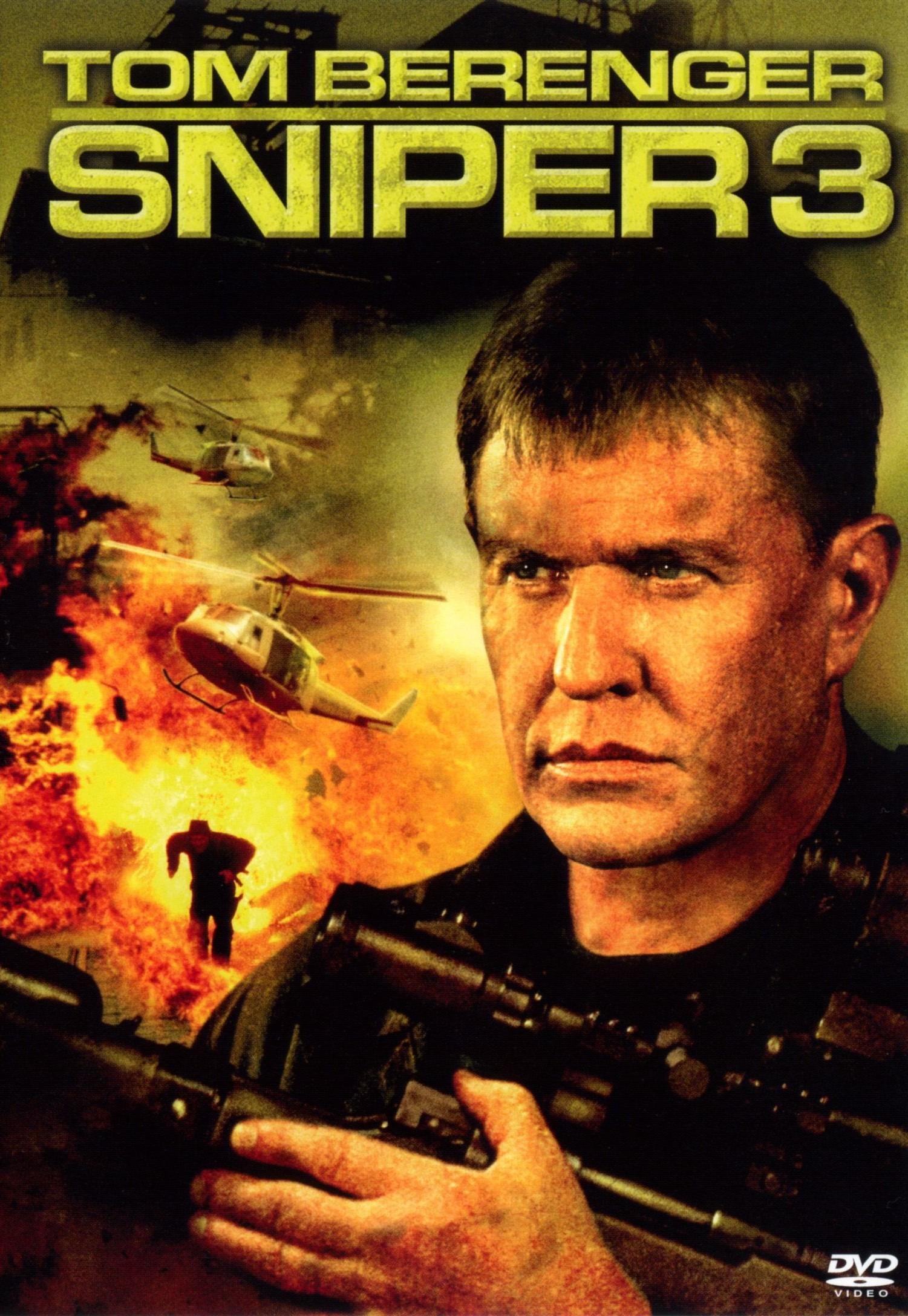 affiche du film Sniper 3