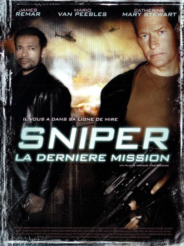 affiche du film Sniper : La dernière mission (TV)