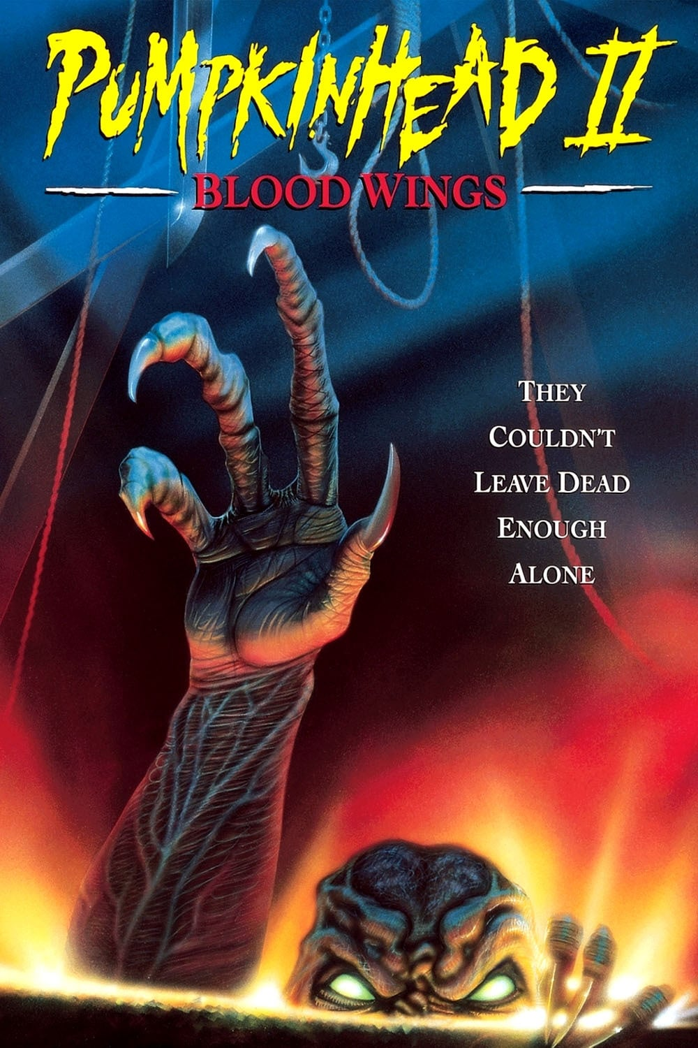 affiche du film Pumpkinhead II: Blood Wings