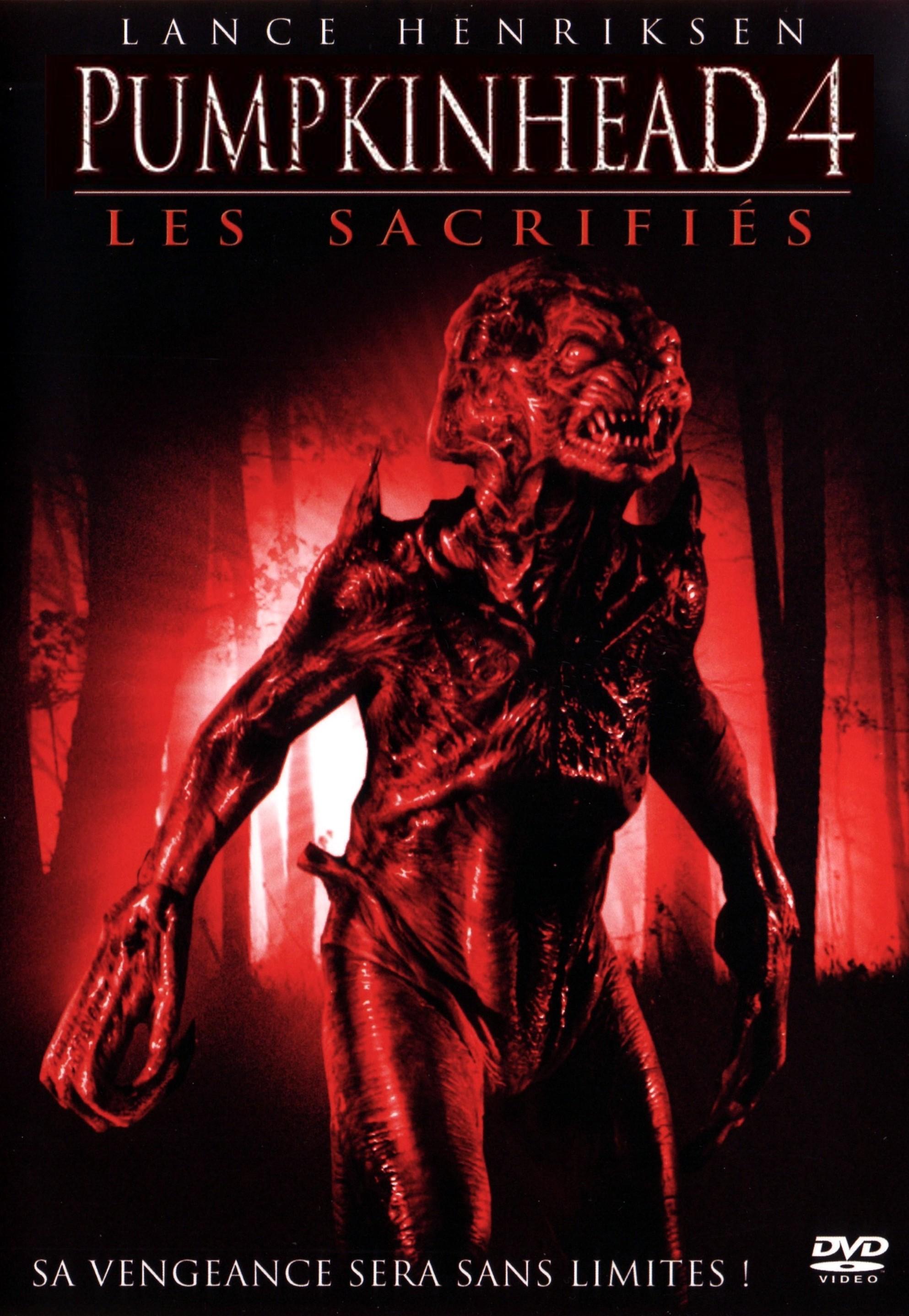 affiche du film Pumpkinhead : Les sacrifiés (TV)