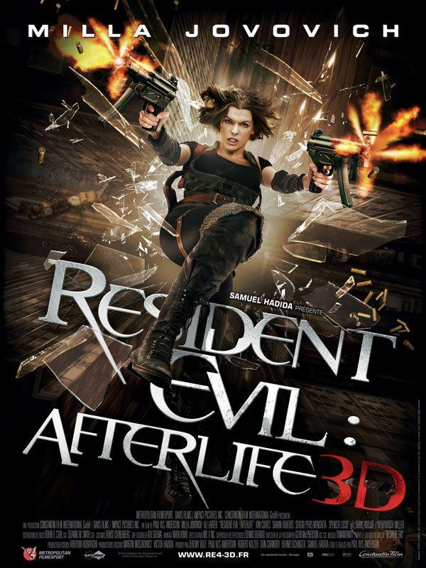 affiche du film Resident Evil: Afterlife