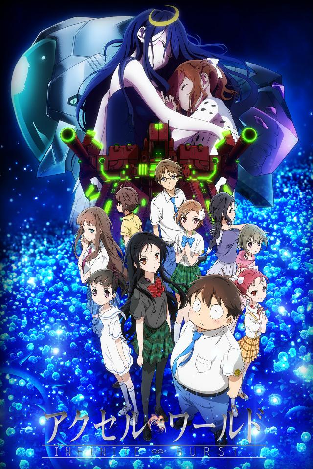 affiche du film Accel World: Infinite∞Burst