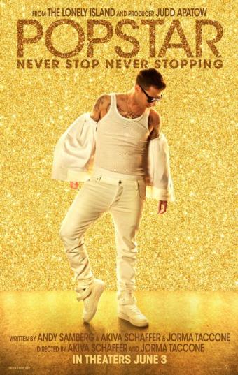 affiche du film Popstar : célèbre à tout prix