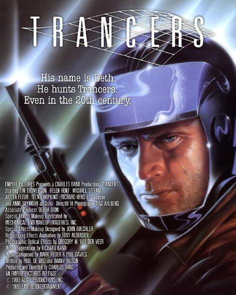 affiche du film Trancers