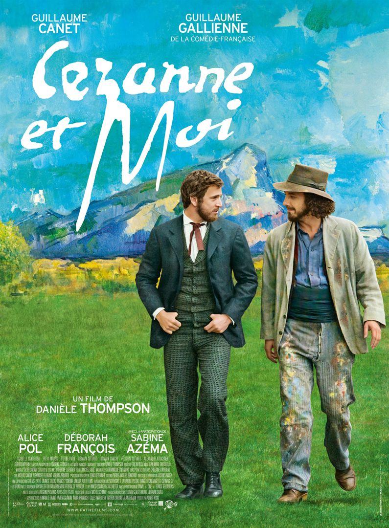 affiche du film Cézanne et moi
