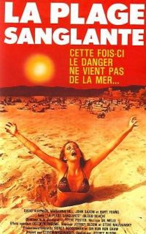 affiche du film La Plage sanglante