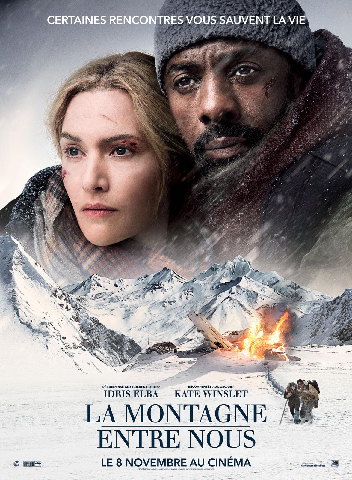 affiche du film La montagne entre nous