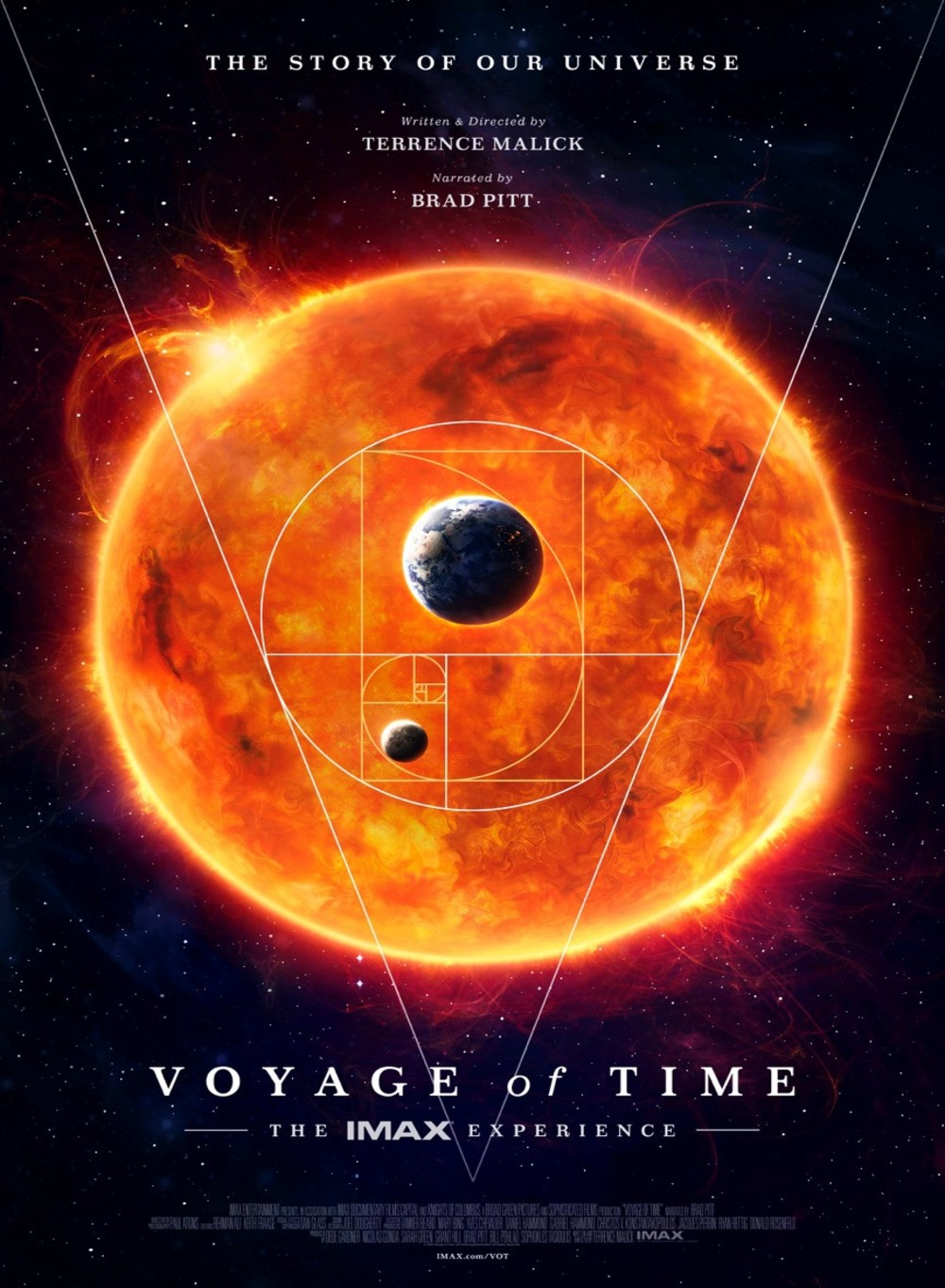 affiche du film Voyage of Time