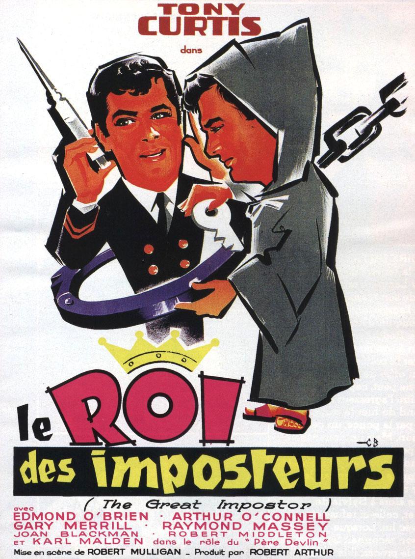 affiche du film Le roi des imposteurs