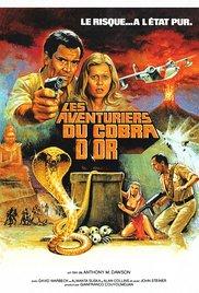 affiche du film Les aventuriers du cobra d'or