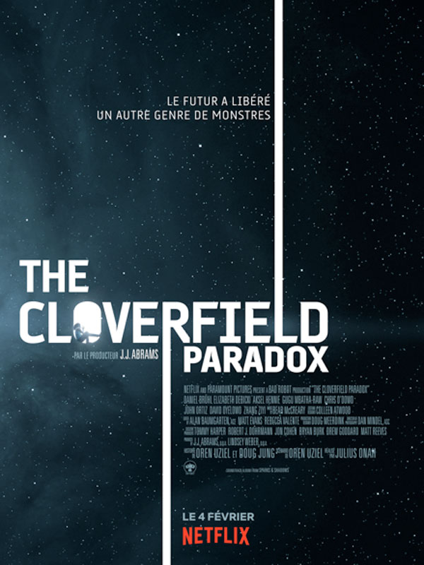 affiche du film The Cloverfield Paradox