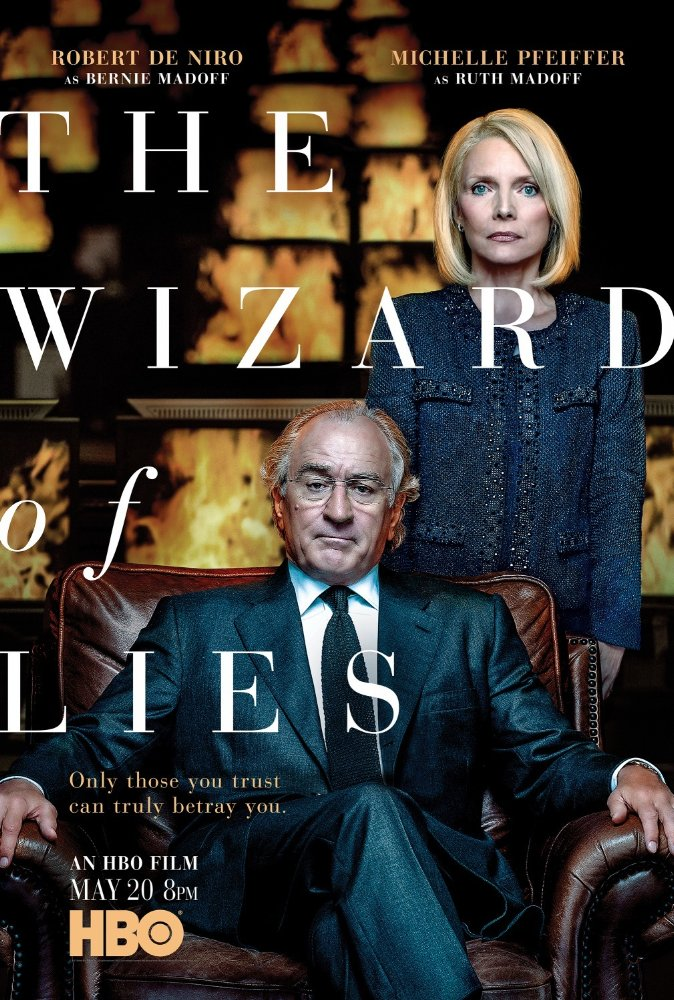affiche du film The Wizard of Lies (TV)