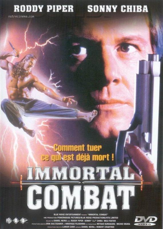 affiche du film Immortal Combat