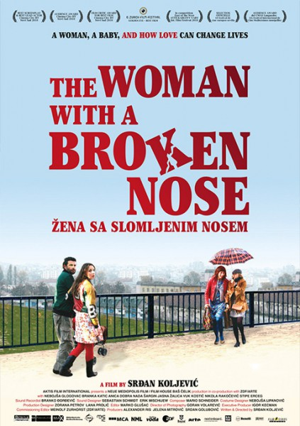 affiche du film The Woman with a Broken Nose