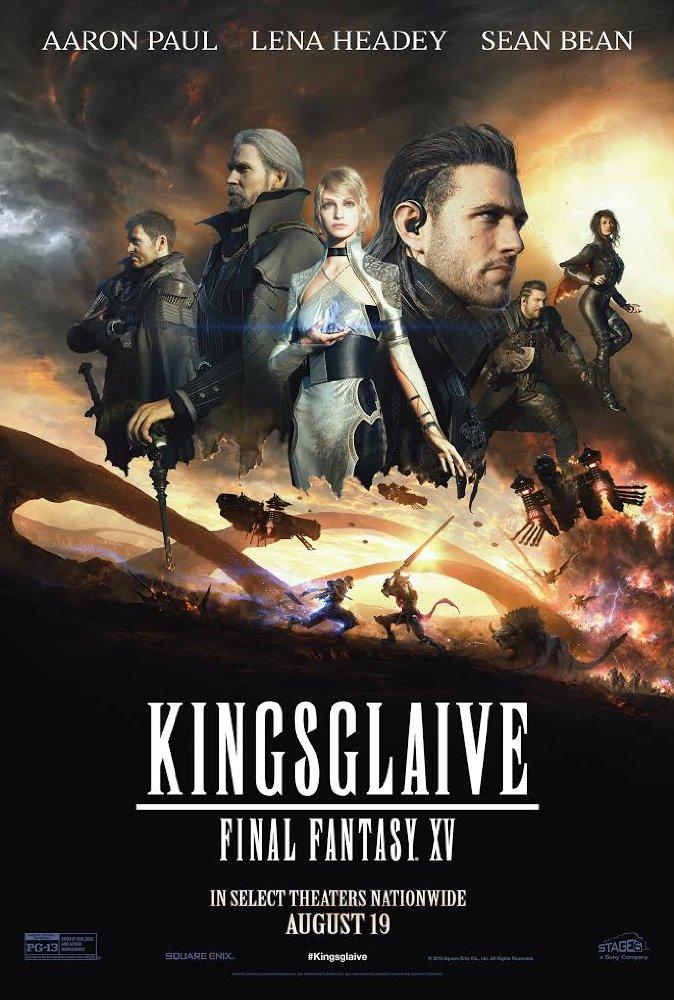 affiche du film Kingsglaive: Final Fantasy XV