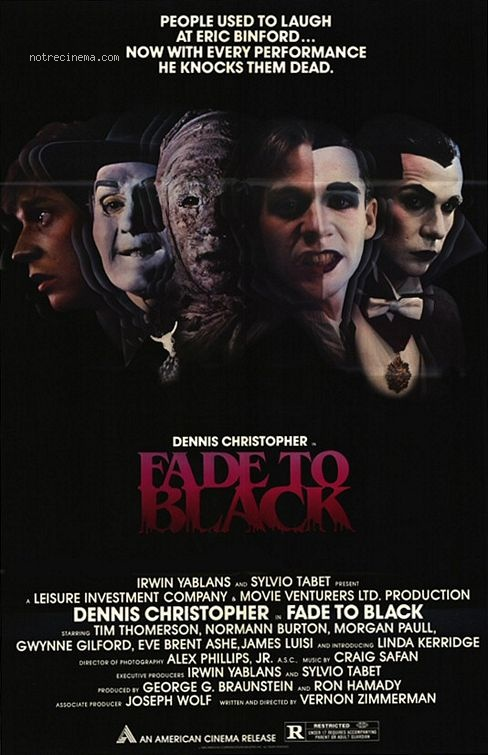 affiche du film Fondu au noir