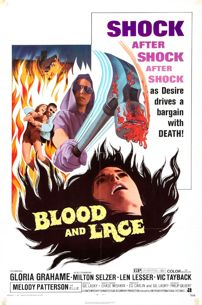 affiche du film Blood and Lace