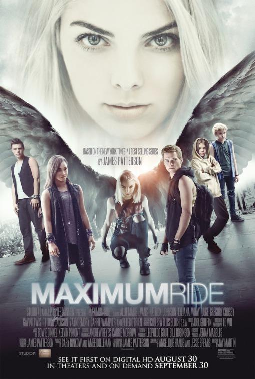 affiche du film Maximum Ride