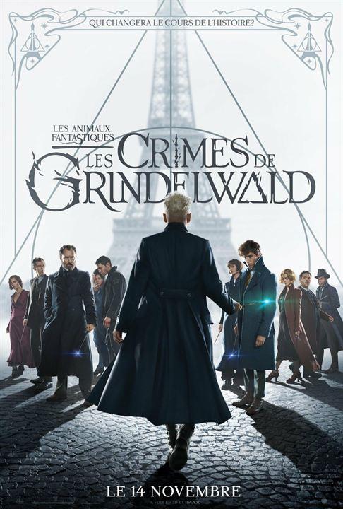 affiche du film Les Animaux Fantastiques 2 : Les Crimes de Grindelwald