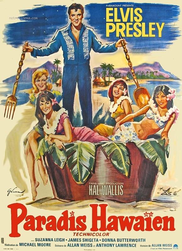 affiche du film Paradis Hawaïen
