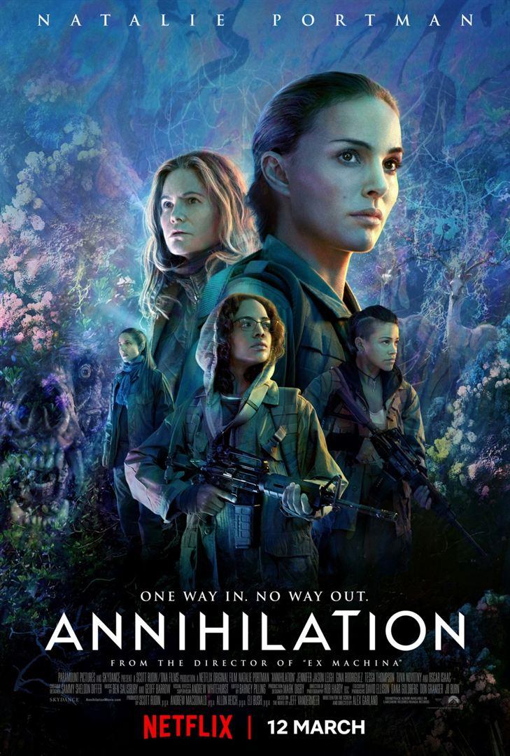 affiche du film Annihilation