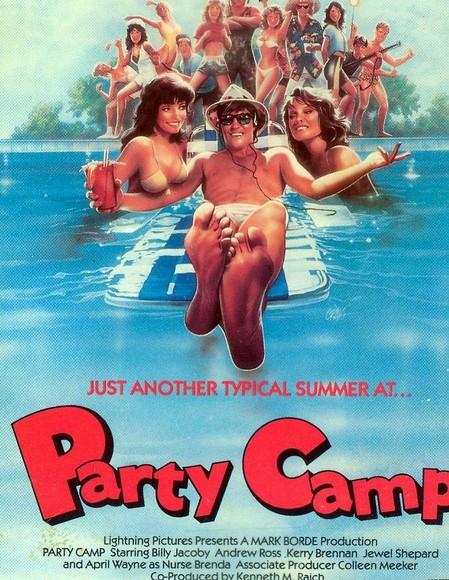affiche du film Party Camp