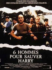 affiche du film Six hommes pour sauver Harry