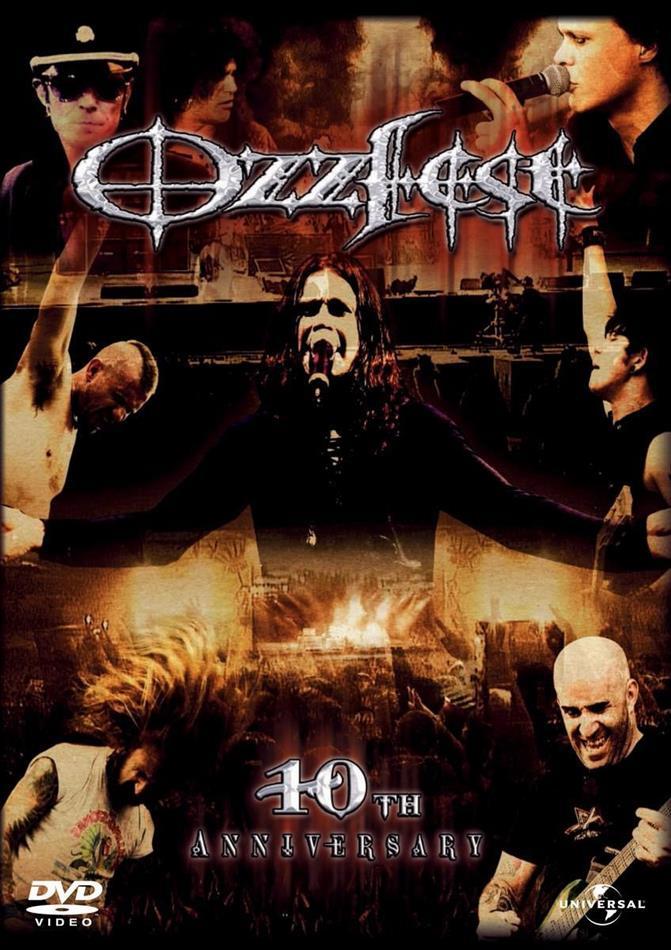 affiche du film Ozzfest : 10ème anniversaire (live)