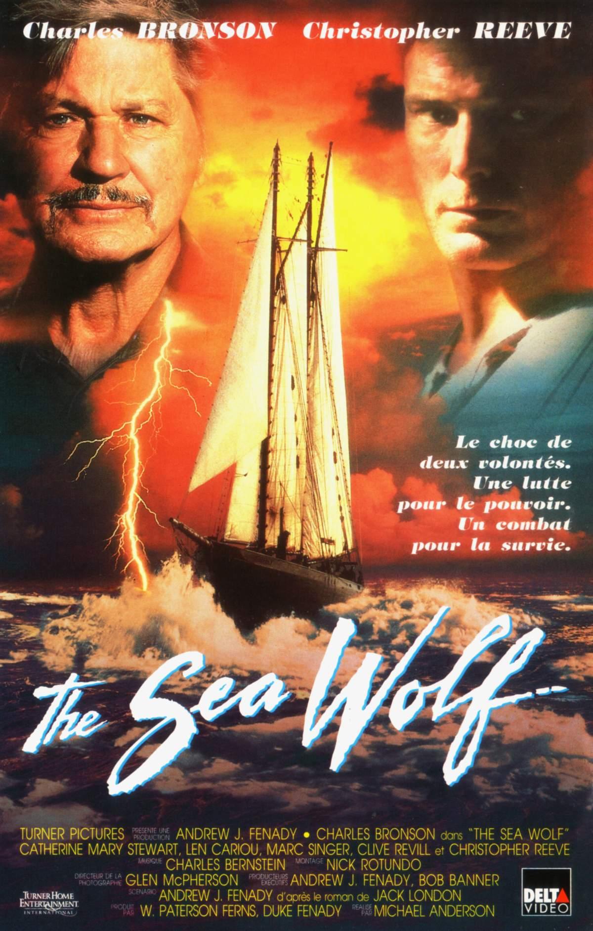 affiche du film Le Loup de mer (TV)