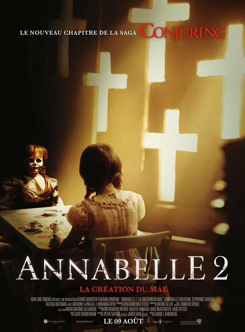 affiche du film Annabelle 2 : La Création du Mal