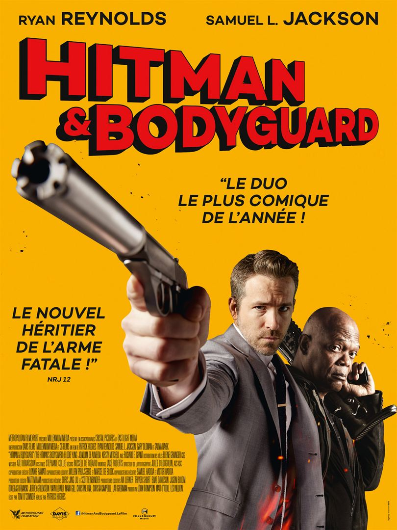 affiche du film Hitman & Bodyguard