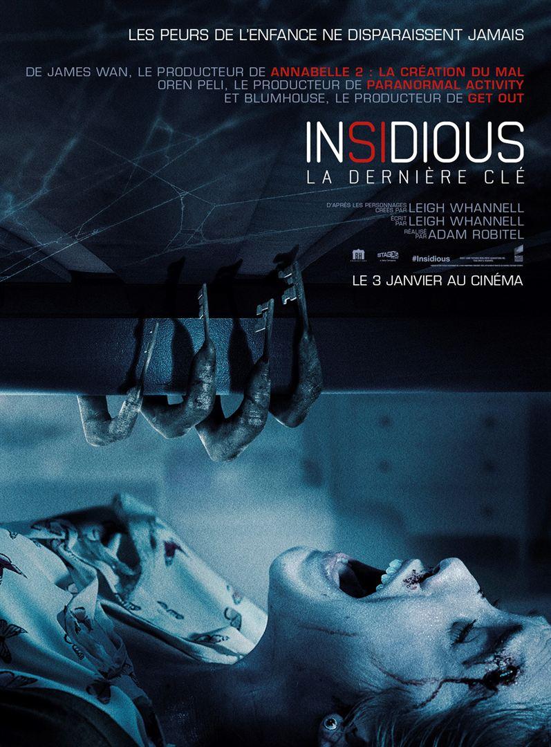 affiche du film Insidious : La dernière clé