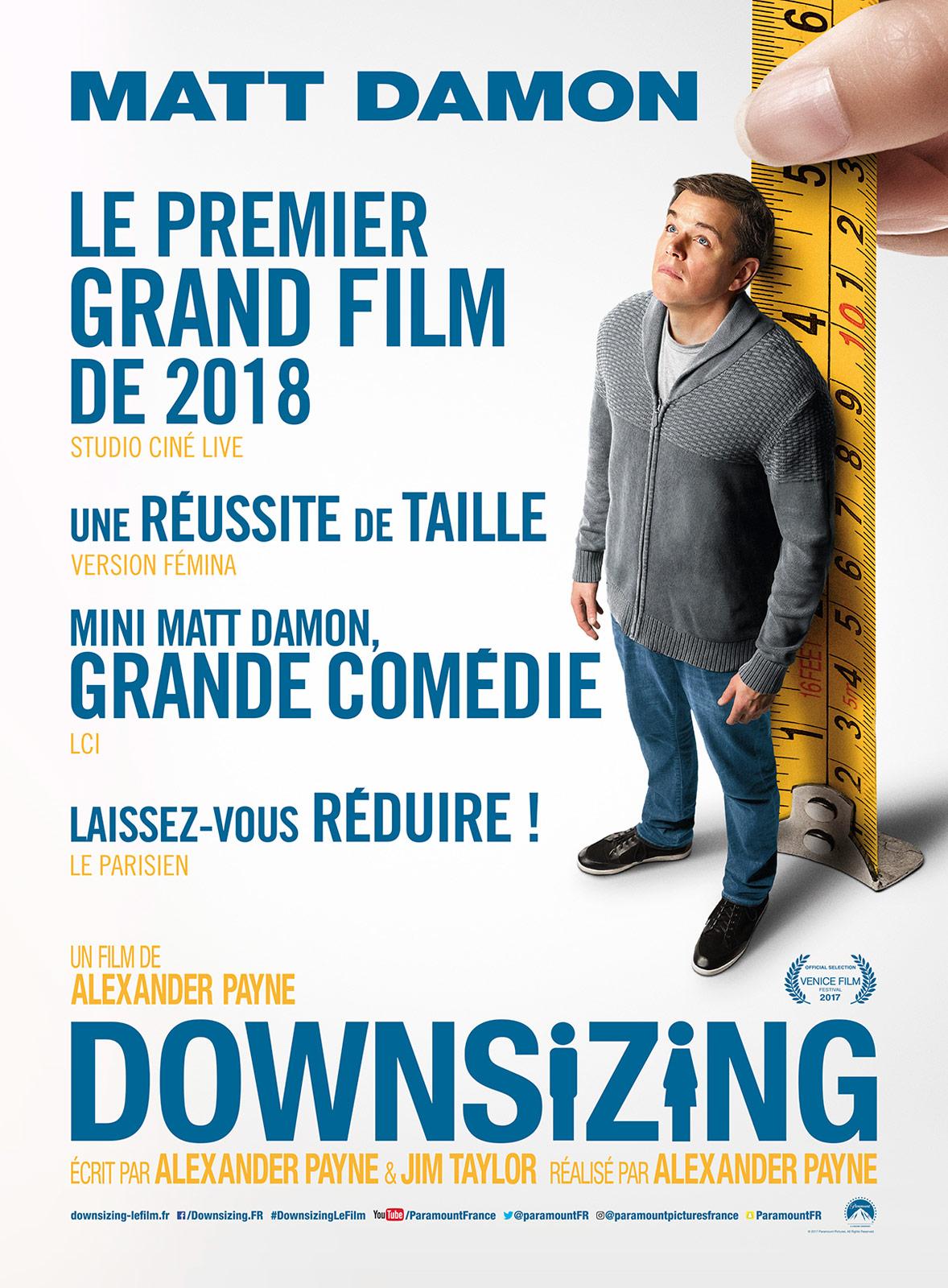 affiche du film Downsizing