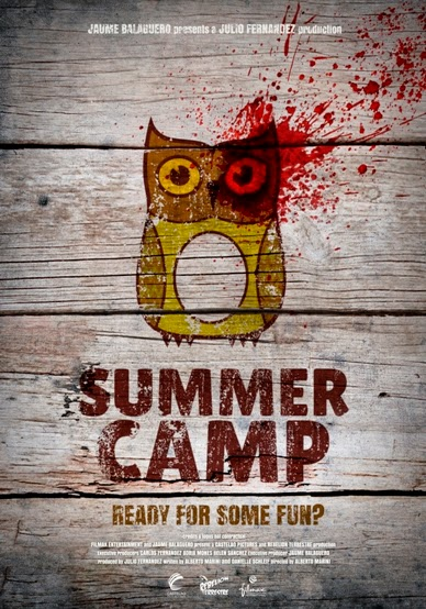 affiche du film Summer Camp