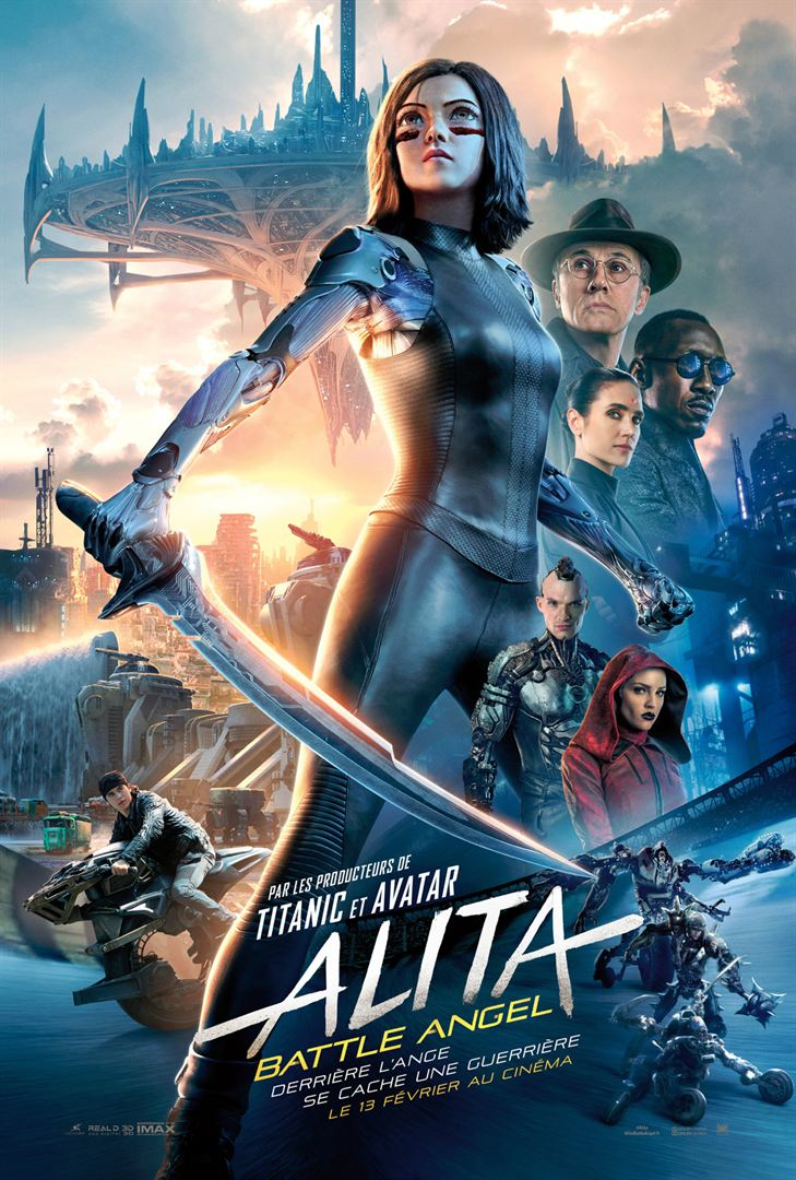 affiche du film Alita: Battle Angel