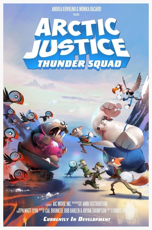 affiche du film Arctic Justice