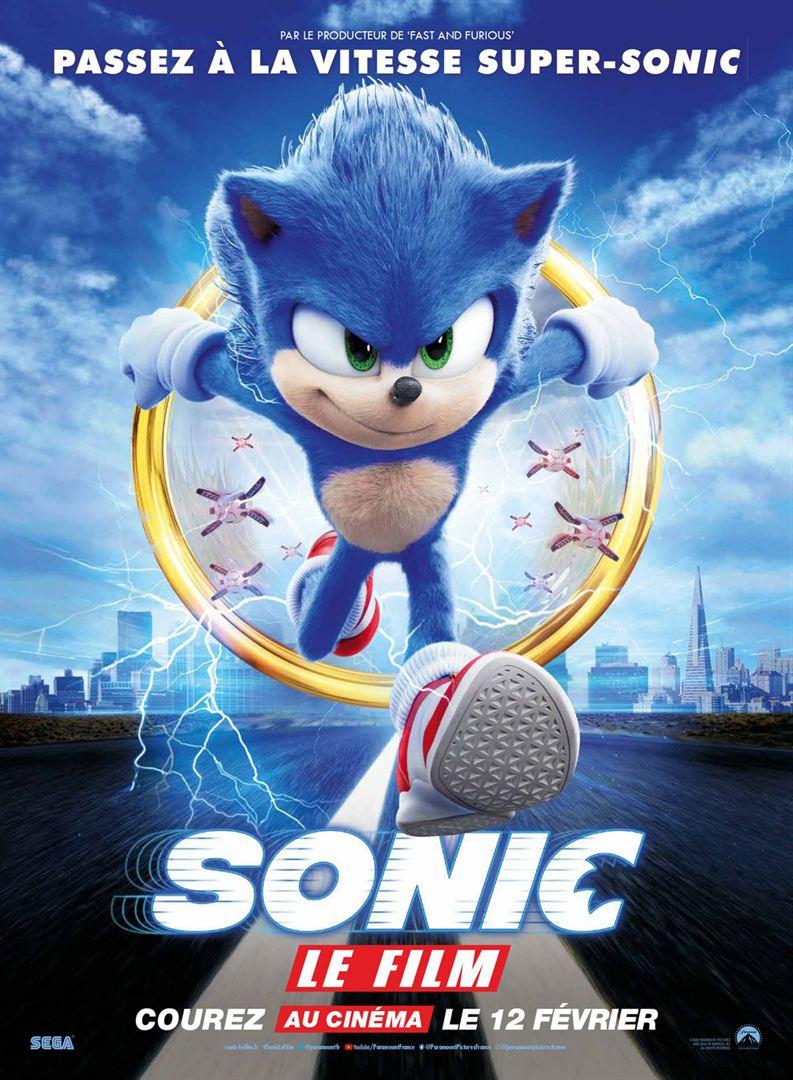 affiche du film Sonic, le film