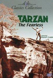 affiche du film Tarzan l'intrépide
