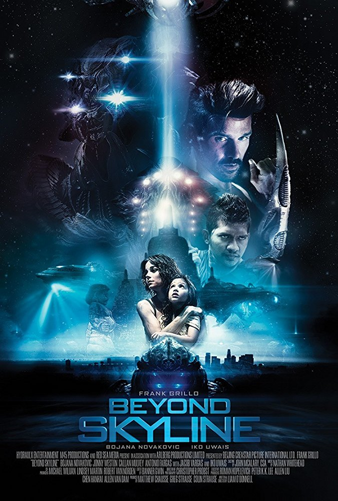 affiche du film Beyond Skyline
